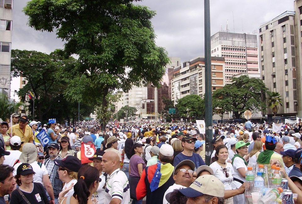 Wenezuela,walka o byt,ucieczka kobiet